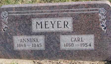 MEYER, ANNINA - Cedar County, Nebraska   ANNINA MEYER - Nebraska Gravestone Photos