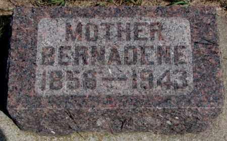 MEYER, BERNADENE - Cedar County, Nebraska | BERNADENE MEYER - Nebraska Gravestone Photos
