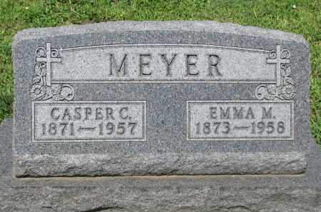 MEYER, EMMA M. - Cedar County, Nebraska | EMMA M. MEYER - Nebraska Gravestone Photos
