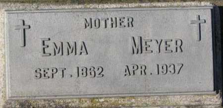 MEYER, EMMA - Cedar County, Nebraska | EMMA MEYER - Nebraska Gravestone Photos