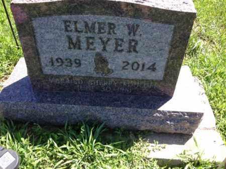 MEYER, ELMER W - Cedar County, Nebraska | ELMER W MEYER - Nebraska Gravestone Photos