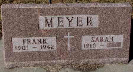 MEYER, SARAH - Cedar County, Nebraska | SARAH MEYER - Nebraska Gravestone Photos