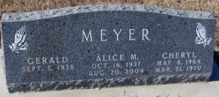 MEYER, GERALD - Cedar County, Nebraska   GERALD MEYER - Nebraska Gravestone Photos