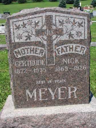 MEYER, GERTRUDE - Cedar County, Nebraska | GERTRUDE MEYER - Nebraska Gravestone Photos