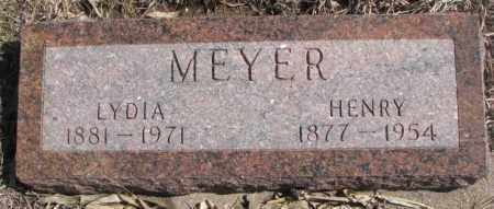 MEYER, HENRY - Cedar County, Nebraska | HENRY MEYER - Nebraska Gravestone Photos