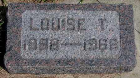 MEYER, LOUISE TERESA - Cedar County, Nebraska | LOUISE TERESA MEYER - Nebraska Gravestone Photos