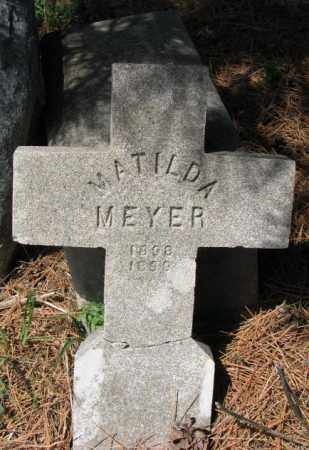 MEYER, MATILDA - Cedar County, Nebraska | MATILDA MEYER - Nebraska Gravestone Photos