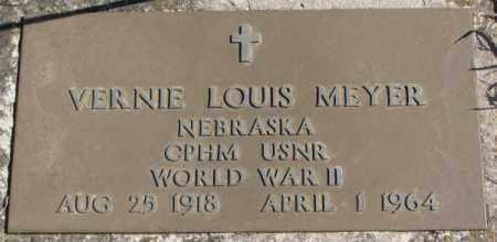 MEYER, VERNIE LOUIS (WW II) - Cedar County, Nebraska   VERNIE LOUIS (WW II) MEYER - Nebraska Gravestone Photos