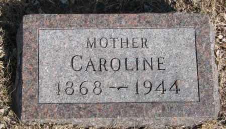 MICHELS, CAROLINE - Cedar County, Nebraska   CAROLINE MICHELS - Nebraska Gravestone Photos