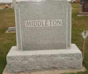 MIDDLETON, FAMILY - Cedar County, Nebraska | FAMILY MIDDLETON - Nebraska Gravestone Photos