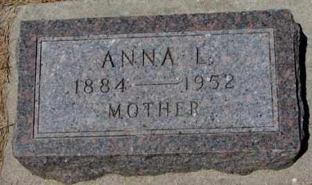 MILANDER, ANNA L. - Cedar County, Nebraska | ANNA L. MILANDER - Nebraska Gravestone Photos