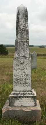 MILLARD, EDWIN J - Cedar County, Nebraska   EDWIN J MILLARD - Nebraska Gravestone Photos