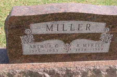 MILLER, R. MYRTLE - Cedar County, Nebraska | R. MYRTLE MILLER - Nebraska Gravestone Photos