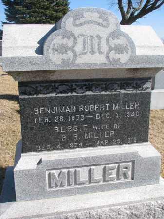 MILLER, BENJIMAN ROBERT - Cedar County, Nebraska | BENJIMAN ROBERT MILLER - Nebraska Gravestone Photos