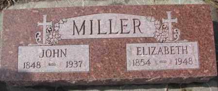 MILLER, ELIZABETH - Cedar County, Nebraska | ELIZABETH MILLER - Nebraska Gravestone Photos