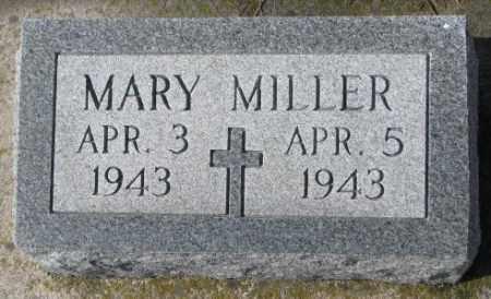 MILLER, MARY - Cedar County, Nebraska   MARY MILLER - Nebraska Gravestone Photos