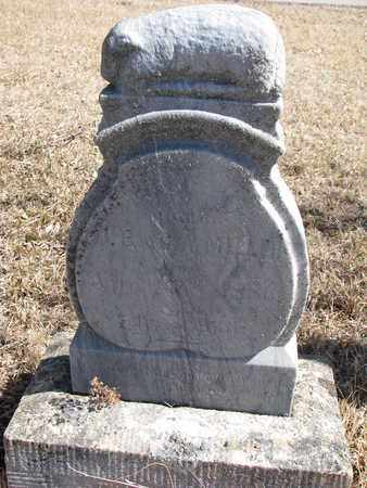 MILLER, UNKNOWN - Cedar County, Nebraska | UNKNOWN MILLER - Nebraska Gravestone Photos
