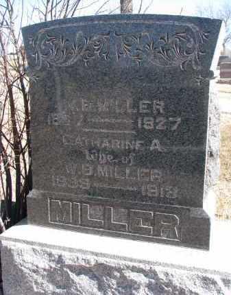 MILLER, W.B. - Cedar County, Nebraska | W.B. MILLER - Nebraska Gravestone Photos