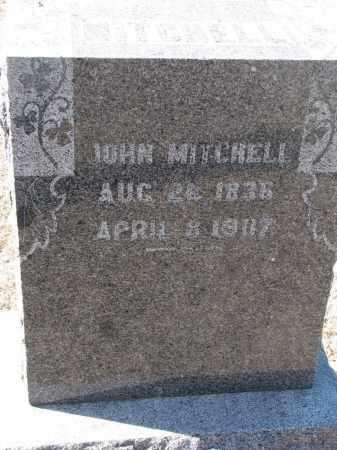 MITCHELL, JOHN - Cedar County, Nebraska | JOHN MITCHELL - Nebraska Gravestone Photos