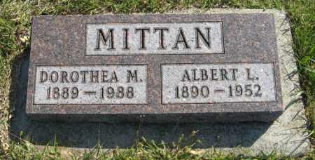 MITTAN, DOROTHEA M. - Cedar County, Nebraska | DOROTHEA M. MITTAN - Nebraska Gravestone Photos
