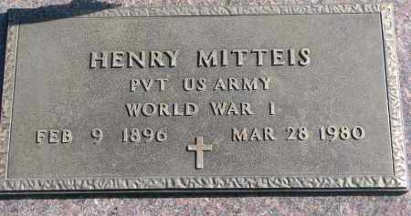 MITTEIS, HENRY (WW I) - Cedar County, Nebraska | HENRY (WW I) MITTEIS - Nebraska Gravestone Photos