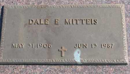 MITTEIS, DALE E, - Cedar County, Nebraska   DALE E, MITTEIS - Nebraska Gravestone Photos