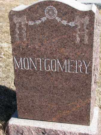 MONTGOMERY, FAMILY STONE - Cedar County, Nebraska | FAMILY STONE MONTGOMERY - Nebraska Gravestone Photos