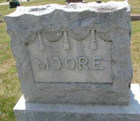 MOORE, PLOT - Cedar County, Nebraska | PLOT MOORE - Nebraska Gravestone Photos
