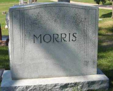 MORRIS, FAMILY - Cedar County, Nebraska | FAMILY MORRIS - Nebraska Gravestone Photos