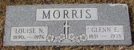 MORRIS, LOUISE N. - Cedar County, Nebraska | LOUISE N. MORRIS - Nebraska Gravestone Photos