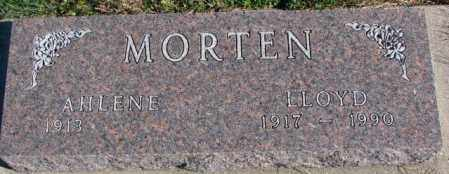 MORTEN, LLOYD - Cedar County, Nebraska | LLOYD MORTEN - Nebraska Gravestone Photos