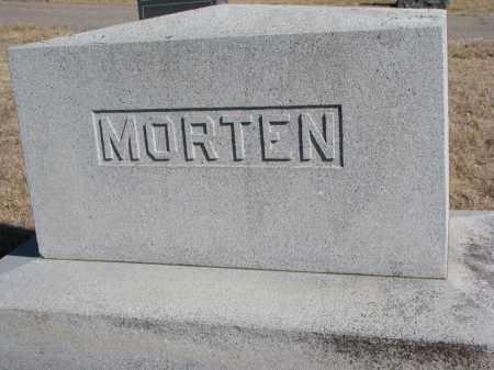 MORTEN, FAMILY STONE - Cedar County, Nebraska   FAMILY STONE MORTEN - Nebraska Gravestone Photos