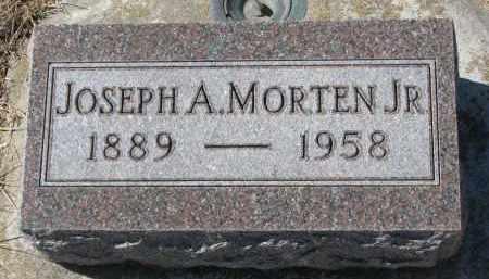 MORTEN, JOSEPH A. JR. - Cedar County, Nebraska | JOSEPH A. JR. MORTEN - Nebraska Gravestone Photos
