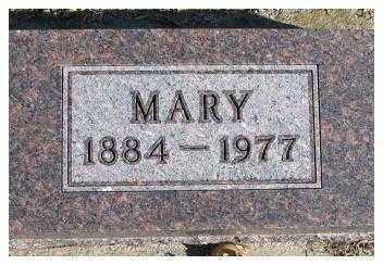 MORTEN, MARY - Cedar County, Nebraska   MARY MORTEN - Nebraska Gravestone Photos