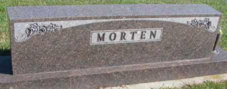 MORTEN, PLOT - Cedar County, Nebraska   PLOT MORTEN - Nebraska Gravestone Photos