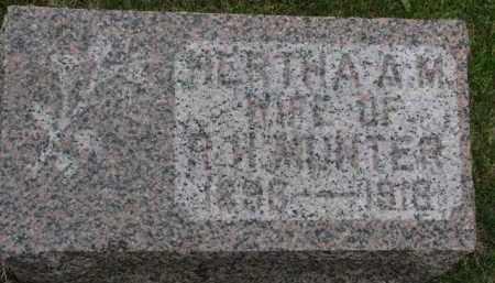 MUNTER, HERTHA A.M. - Cedar County, Nebraska   HERTHA A.M. MUNTER - Nebraska Gravestone Photos