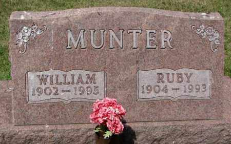MUNTER, WILLIAM - Cedar County, Nebraska | WILLIAM MUNTER - Nebraska Gravestone Photos