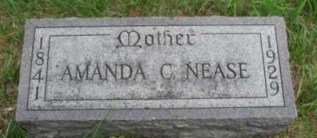 NEASE, AMANDA C. - Cedar County, Nebraska | AMANDA C. NEASE - Nebraska Gravestone Photos