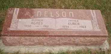 NELSON, AGNES - Cedar County, Nebraska | AGNES NELSON - Nebraska Gravestone Photos