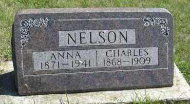 NELSON, ANNA - Cedar County, Nebraska | ANNA NELSON - Nebraska Gravestone Photos