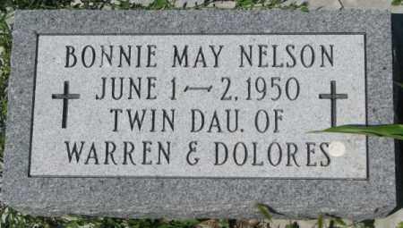 NELSON, BONNIE MAY - Cedar County, Nebraska | BONNIE MAY NELSON - Nebraska Gravestone Photos