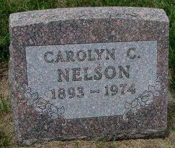 NELSON, CAROLYN C. - Cedar County, Nebraska | CAROLYN C. NELSON - Nebraska Gravestone Photos