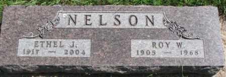 NELSON, ROY W. - Cedar County, Nebraska | ROY W. NELSON - Nebraska Gravestone Photos