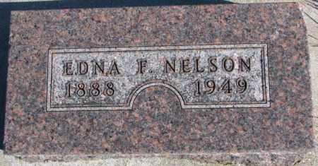 NELSON, EDNA F. - Cedar County, Nebraska | EDNA F. NELSON - Nebraska Gravestone Photos