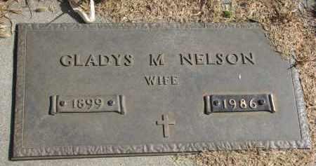 NELSON, GLADYS M. - Cedar County, Nebraska | GLADYS M. NELSON - Nebraska Gravestone Photos