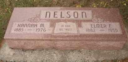 NELSON, ELMER F - Cedar County, Nebraska | ELMER F NELSON - Nebraska Gravestone Photos