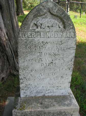 NELSON, IVAR LINDEGAARD - Cedar County, Nebraska | IVAR LINDEGAARD NELSON - Nebraska Gravestone Photos
