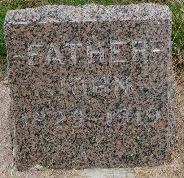 NELSON, JOHN - Cedar County, Nebraska | JOHN NELSON - Nebraska Gravestone Photos