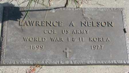 NELSON, LAWRENCE A. - Cedar County, Nebraska | LAWRENCE A. NELSON - Nebraska Gravestone Photos