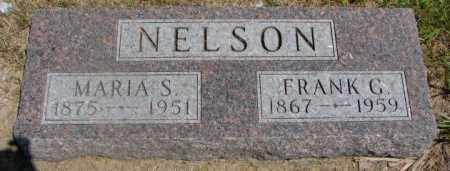 NELSON, FRANK G. - Cedar County, Nebraska   FRANK G. NELSON - Nebraska Gravestone Photos